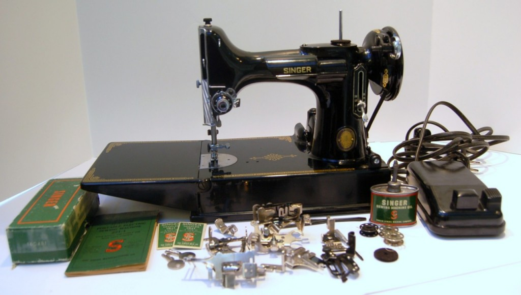 dating a featherweight sewing machine