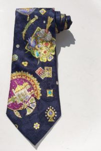 Leonard Paris Couture Mens Silk Tie