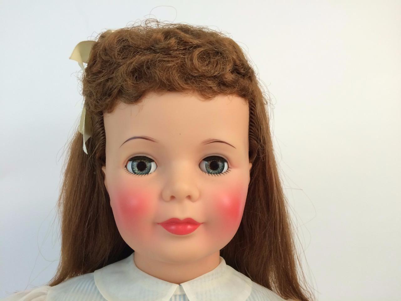 Patti Playpal Doll 1960 Companion Htf Curly Bang Auburn